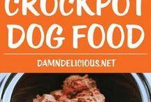 Home made dog foods