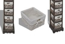 Brown Cabinet Unit Storage Rack