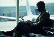 Business as Usual / Tablero de inspiración para un proyecto fotográfico sobre los viajes de negocios