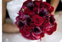 Burgundy weddings