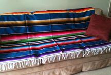For the Home - Home Decor / Easy home decor ideas using Mexican serapes as a throw, table cover, bed spread or even wall art. Cover up some old furniture to revitalize the piece and the room. Add one to a bed to give it warmth. For more ideas check out http://www.stylemexican.com/mexican-blankets-sarapes.html