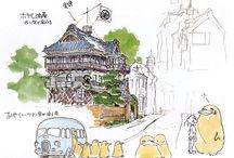 miyazaki sketch insp