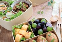 Japanese YUMMY Bento boxes