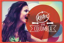 Kotex en Colombia /