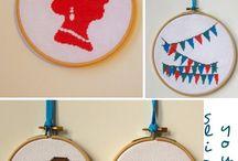 cross stitch / by Cecilia Cartagena-Morgan