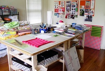 Craft Room Ideas / Awesome craft rooms and amazing ideas for your own craft space.