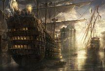 Barcos / Galeones Históricos y Más embarcaciones de vela.