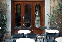 Bistros, Cafes, Pubs (people and atmosphere)..