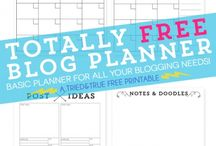 Blog planners! / A collection of some of the best blog planners you would ever need!