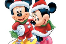 Mickey e Minnie- Natal