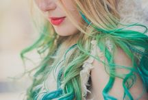 Babirism / lovely colored hairdyes and hairstyles