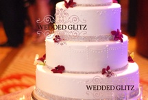 Wedding Cake Accessories / Because your wedding cake should look beautiful too. Monogram cake toppers, rhinestone banding and trim and so much more to make your wedding cake a true piece of art.