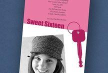 "Sweet ""16"" / Sweet sixteen, 16, happy birthday"