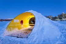 Убежище на льду (WARMING HUTS)