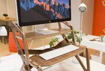 Stall Desk - / StällDesk- the standing desk, reinvented. Designer and fabricator of extraordinary standing desks. The verdict is in. Sitting at work all day is bad. It just is. Stand and Deliver. StallDesk Ergonomic Standing Desks Made in Colorado #Standingdesk #computerdesk #crowdfunding #Kickstarter #deskdesign #officefurniture #desk #healthy office #customdesk #ergonomic #work #ergonomic-desk #StallDesk #workstation #woodworkstation #deskaccessories #customdesk  #health #workplace #workspace #posture #work #office #standupdesk #sitstanddesk#adjustable desk#adjustablestandingdesk #heightadjustabledesk#ergonomic desk#standupdesks#standingworkstation