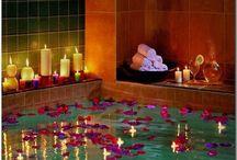 ♡ Momentos románticos ♡ / El baño es un lugar perfecto para disfrutar de un momento romántico con tu pareja