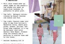 S/S 14 Interiors Trend: Pastels