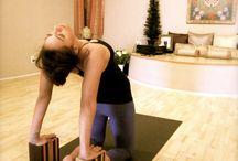 yoga blocks for camel pose