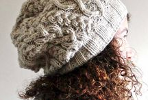 Knitted winter hat patterns