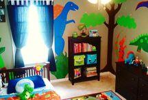 Seb Dinosaur room