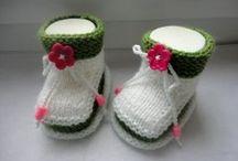 пинетки носки варежки