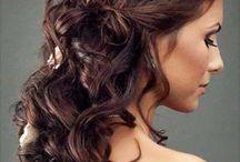 Brude hår