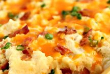 RECIPES Potato Dishes / The ultimate comfort food!  Who doesn't love a great mashed potato dish (cheese and bacon are a bonus!)! / by Cook Crave Inspire by SpendWithPennies.com