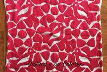 Blusas/vestidos bordados