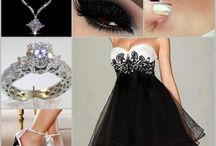 Black and White Dress / Would be an amazing bridesmaid dress !!