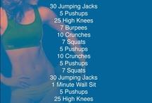 workouts / by Ashley Thomas