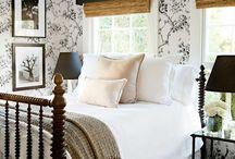 Bedrooms / by Jaqui Kerns Barrow