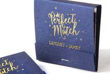 Wedding Match Books