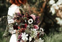 Moody Wedding Florals & Bouquets