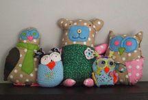 Zabawki handmade / Zdjęcia maskotek szytych i zrobionych przeze mnie na szydełku