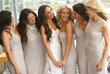 Bridesmaids Style / Every bride should feel & look fabulous on her wedding day... and your wedding party too! #bridal #wedding #gown #bridesmaids #flowergirl