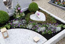 osázení hrobů