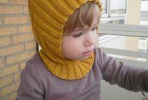 zimní detske kukly