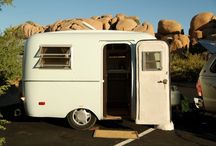 Tiny Trailers, Campers, RV's / Small vintage trailers and restoration ideas
