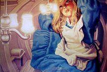 Alice in W:Greg Hildebrandt / Alice in wonderland (illustrator)