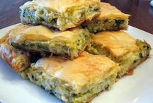 PITES, ΠΙΤΕΣ, SAVORY FILO and PASTRY / All manner of pies or pitas.  Sorry but some are in Greek only. / by Oree G.