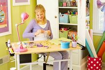 Kids Craft Rooms / Creative ideas for kids craft rooms