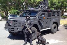 Armored Police/SWAT/Tactical Vehicles / by Crown North America