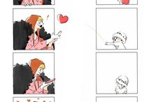 One Piece/ Law and Corazon