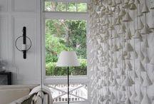 Interiors: wall installation art