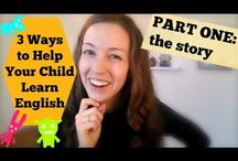 Consejos para aprender y estudiar inglés con tus hijos