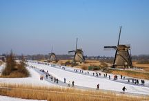 Iceskating in the Netherlands