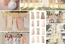 Bridesmaid gown ideas