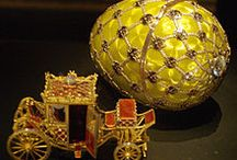 Fabergé Eggs / Around 50 fabulously jewelled Easter Eggs fashioned by Peter Carl Fabergé and company for the Russian Tsars Alexander III and Nicholas II. One egg was valued up to $40 million.