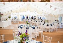 Tented Wedding / Inspiration for decorating your wedding tent.