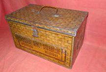Vintage laatikot, boxit ja rasiat